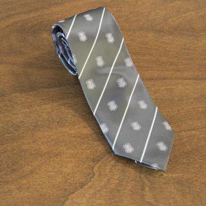 Cravatta a righe fondo grigio mod. 202