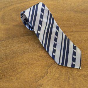 Cravatta a righe fondo giallo mod. 206