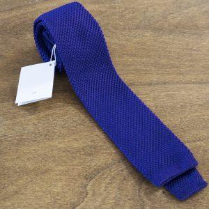 Cravatta in maglina fondo viola mod. 294