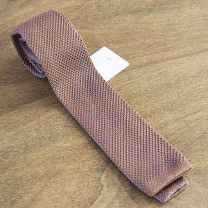 Cravatta in maglina fantasia fondo beige mod. 299