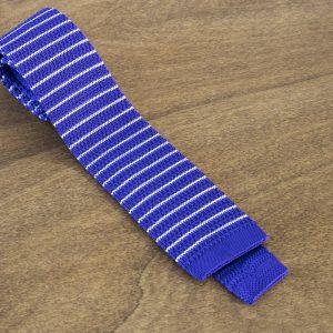 Cravatta in maglina fantasia fondo viola mod. 302